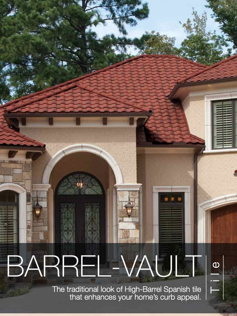 Boral Stone Coated Steel Barrel Vault Tile