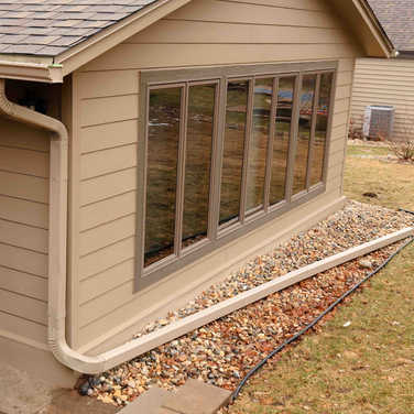 Seamless Gutters and Downspouts