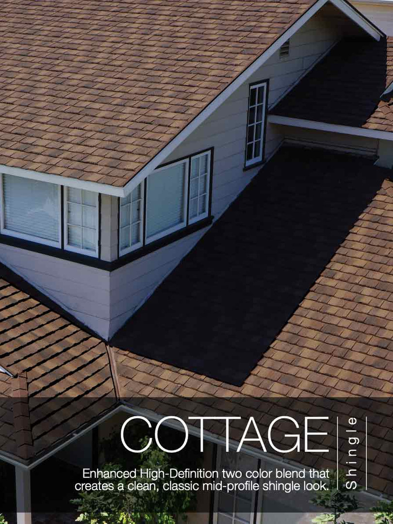 Boral Stone Coated Steel Cottage Shingle