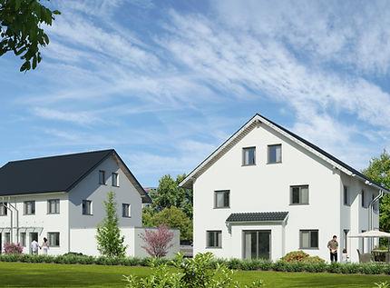 Steg Projekte Neubau Doppelhaushälfte