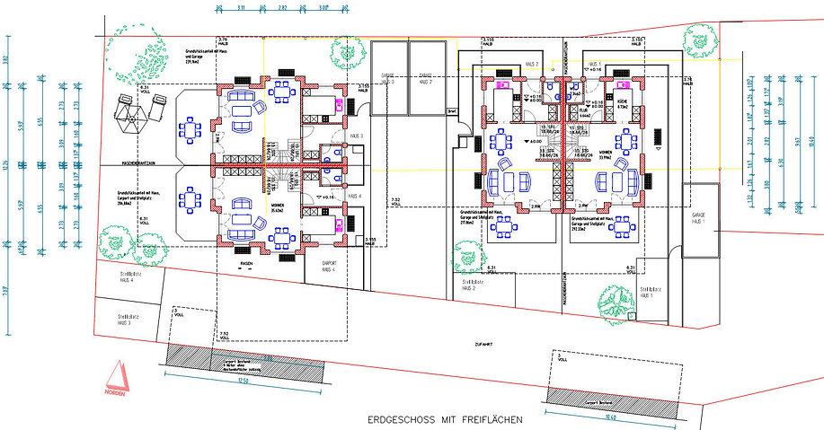 Steg Projekte Neubau Doppelhaushälften