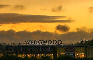 The Wedgwood factory at Barlaston