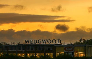 The Wedgwood factory at Barlaston