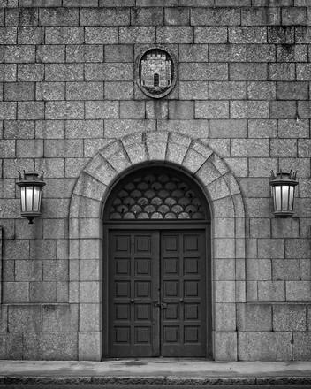 Arched Doorway, Tyne Bridge
