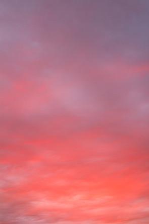 Beautiful Springtime April Sunset