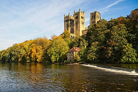 Durham Cathedral and River Wear.