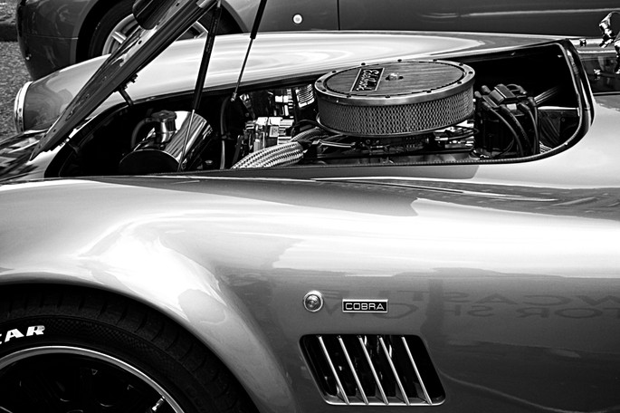 Classic AC Cobra Sports Car