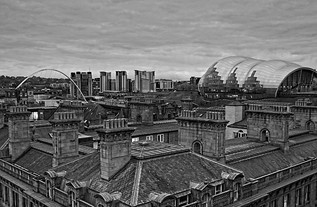 Old and New Rooftops, Newcastle