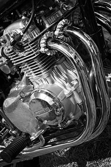 Honda 350 Four Motorcycle Engine