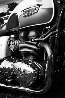 Triumph Bonneville Motorcycle Engine