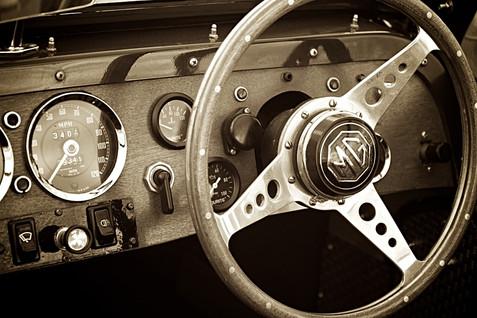 MG Sports Car Dashboard