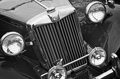 Classic MG Type T Sports Car