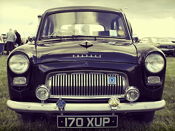 Classic Vintage Ford Prefect