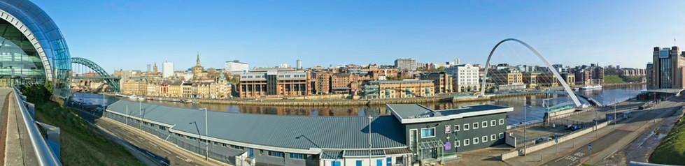 Newcastle-Gateshead Panorama