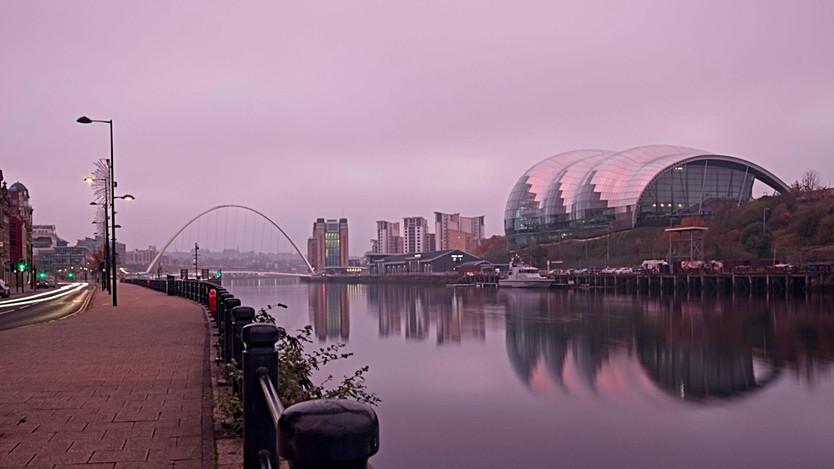 Newcastle Quayside Dawn