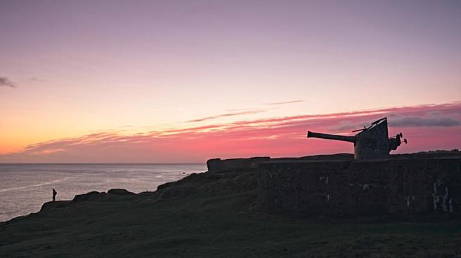 Trow Point Big Gun Sunrise