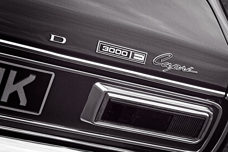 Ford Capri 3000E Rear