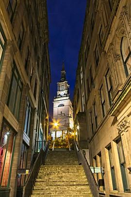 Steps to All Saints Church, Newcastle