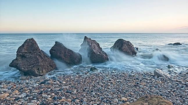 North Sea Waves, Trow Beach