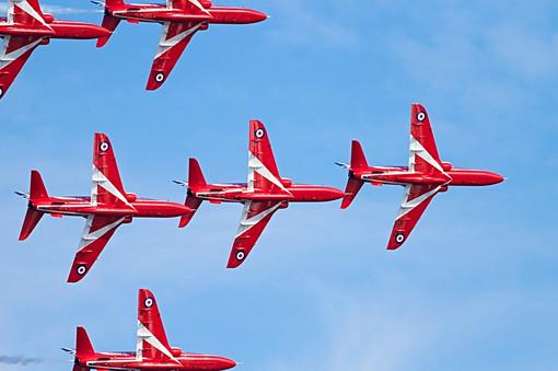 RAF Red Arrows Aerobatic Display Team