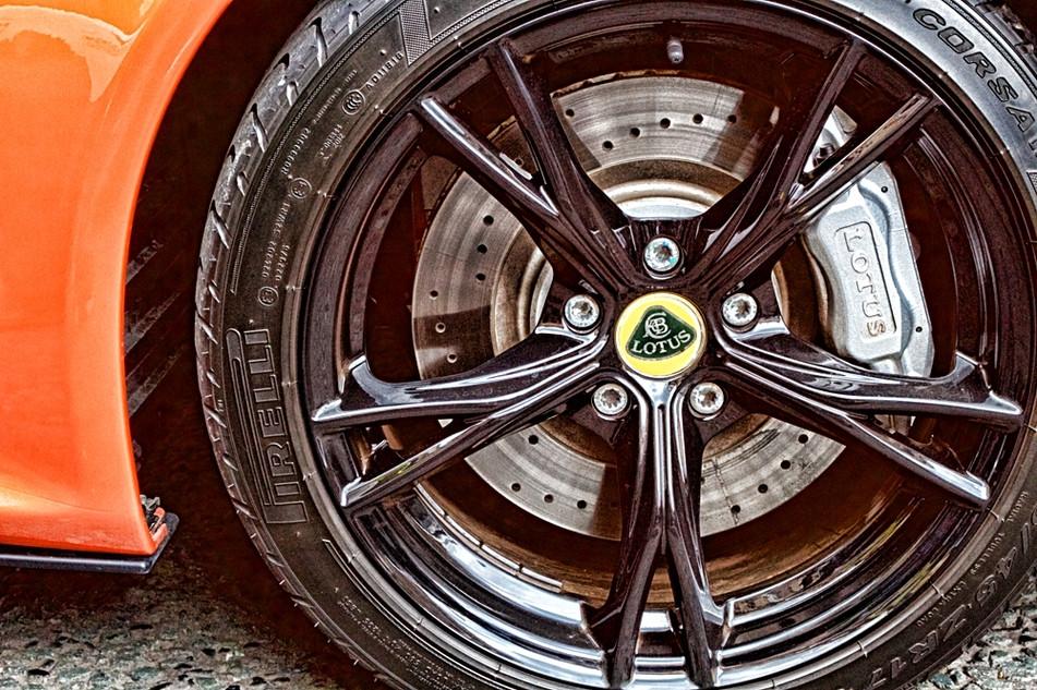 Lotus Sports Car Wheel