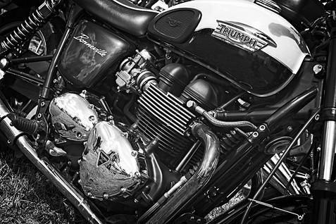 Triumph Bonneville Motorcycle