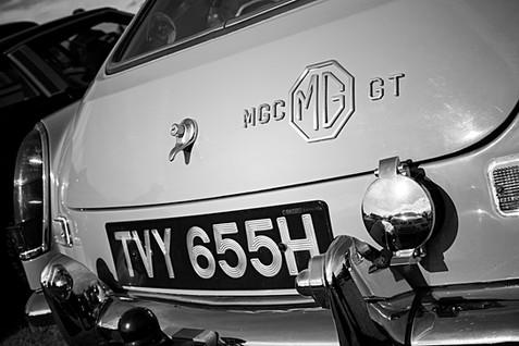 MGC GT Classic Car Rear