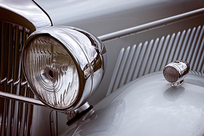 Vintage Classic Lea Francis Motor Car