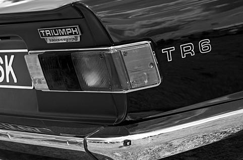 Classic Triumph TR6 Sports Car