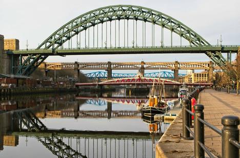 Tyne Bridges Reflections, Newcastle