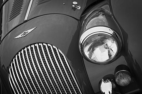 Morgan Sports Car Front Detail