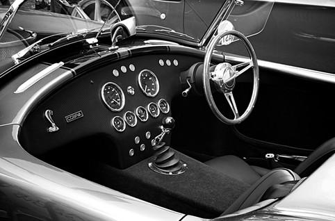 AC Cobra Drivers Cockpit