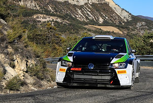 solberg oliver  VW Polo WRC 3 tests RMC