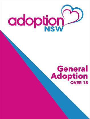 Adoption Kit - General Adoption of a Child over 18