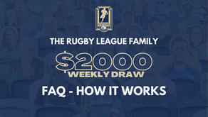 RUGBY LEAGUE FAMILY WEEKLY DRAW - FAQ