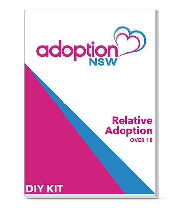 Adoption Kit - Relative Adoption of a Child over 18