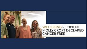 Molly Croft Declared Cancer Free