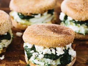 Egg White Sandwiches