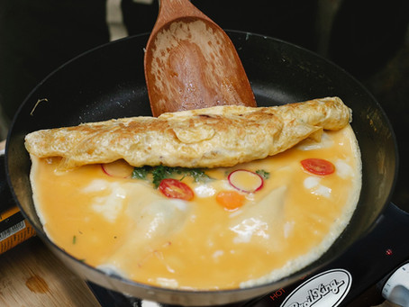 Omelette Station At Home
