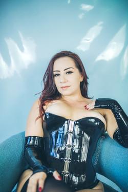 mistress sheri darling latex dominarix
