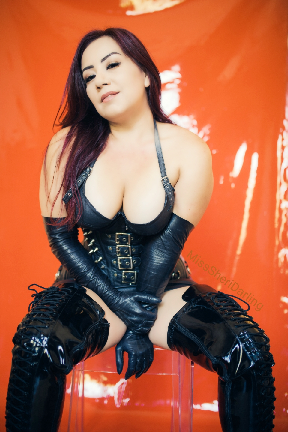 leather goddess sheri darling