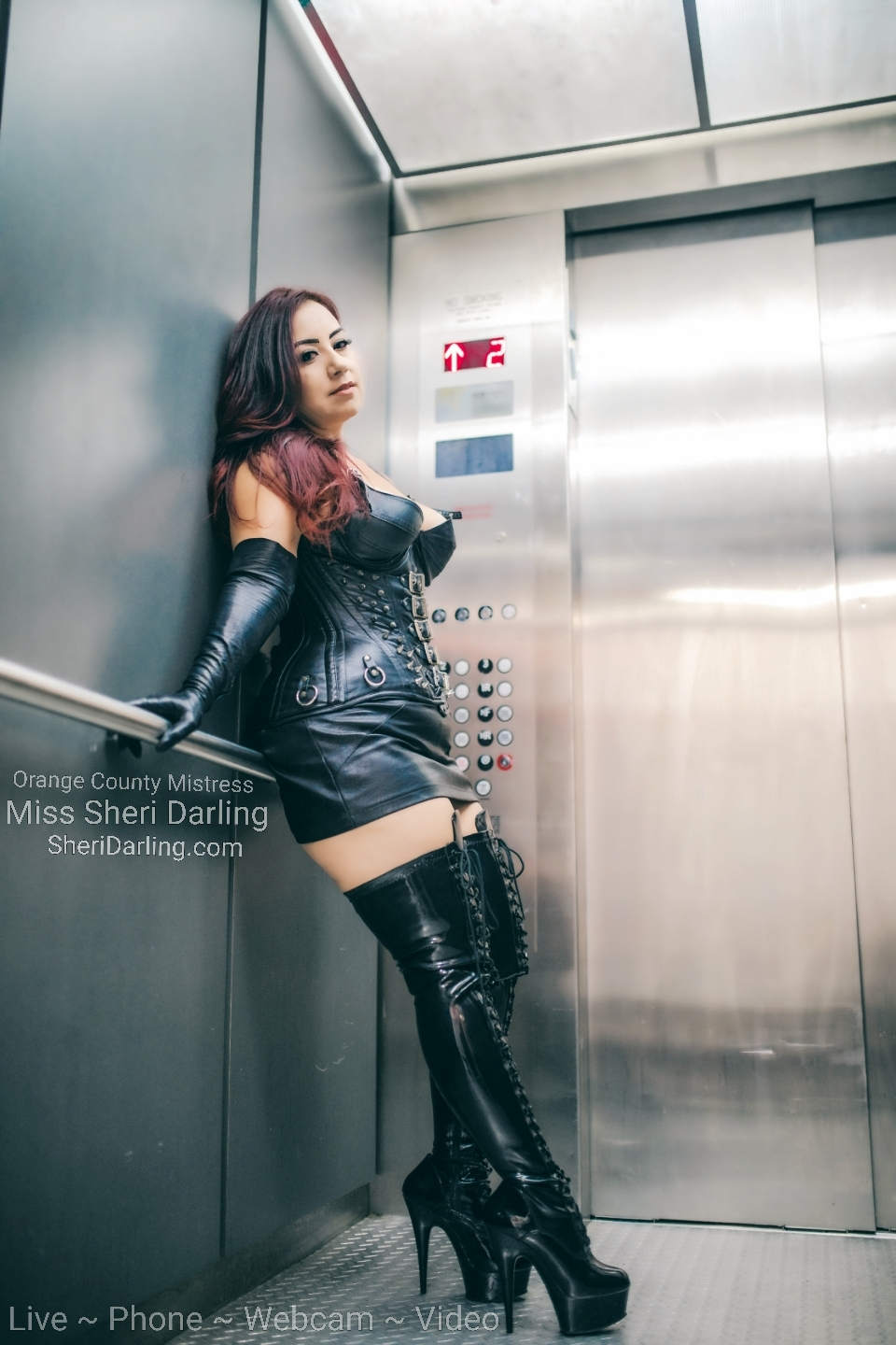 leather mistress sheri darling