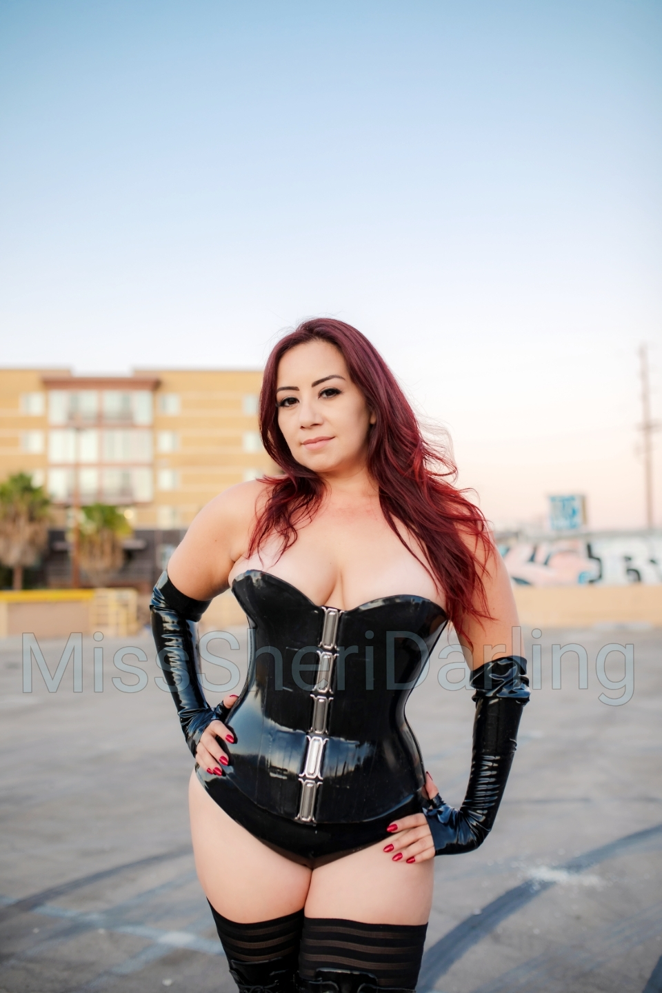 latex dominatrix los Angeles