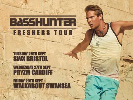 BASSHUNTER @ SWX Night Club Bristol - Tuesday 26th September 2017