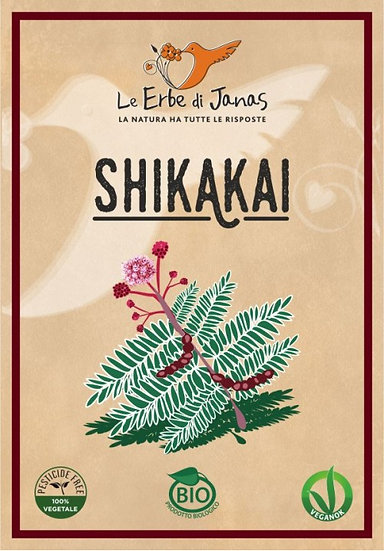 SHIKAKAI - FRUTTA PER CAPELLI BIO 100 gr