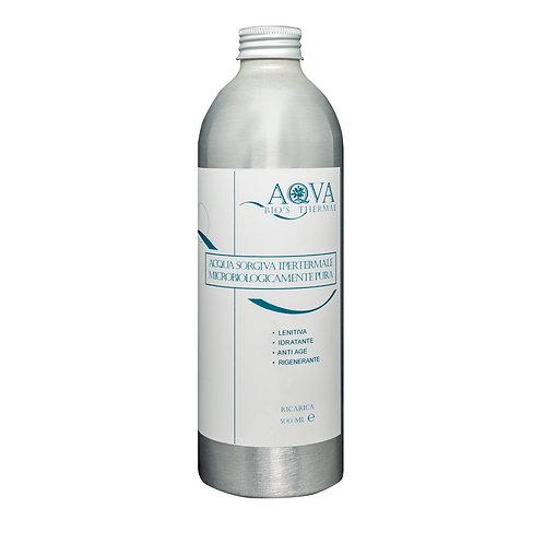 RICARICA per ACQUA SORGIVA IPERTERMALE 500 ml