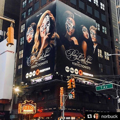 PLL: The Perfectionists in Times Square, NYC