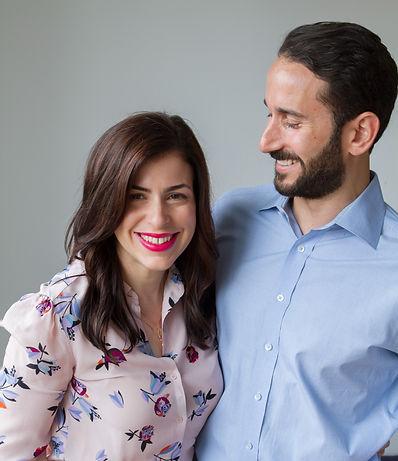 Steve smiling at Elena Rosenblum