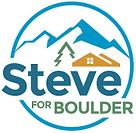 Steve for Boulder Logo