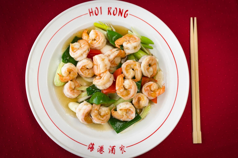 prawns food photography